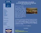 Fifth International Colloquium on Pulsed and Continuous Detonations (ICPCD 2006)